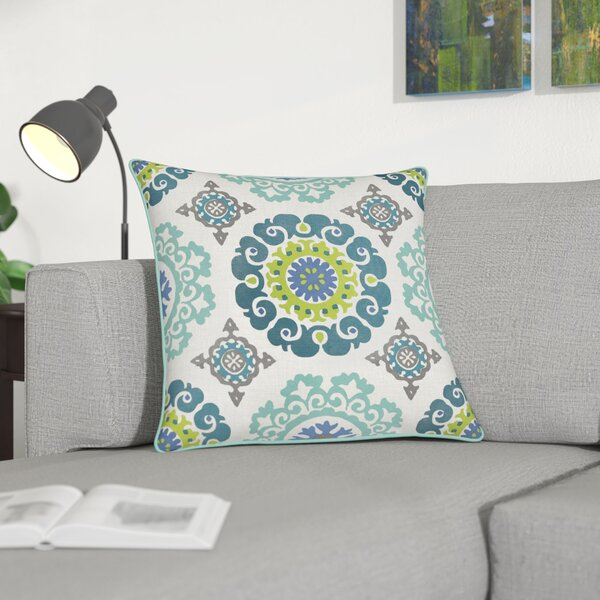 Naumann 100% Cotton Pillow Cover by Andover Mills| @ $15.99
